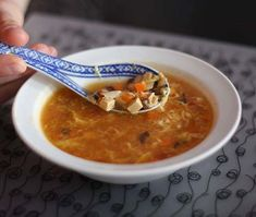 Savanyú-csípős kínai leves - az eredeti recept szerint