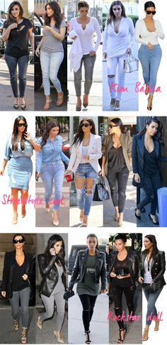 Kim Kardashian's best 60 outfits in 2014 by Fashionismo