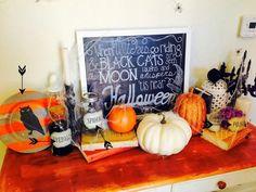 Halloween Decor with Martha Stewart Decoupage