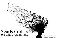 Swirly Curls 5 - Bad Hair Day by namespace.deviantart.com