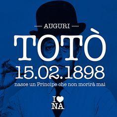 120 anni fà nacque un Principe che non morirà mai. #ilovenapoli ##120anniTotò #Totò