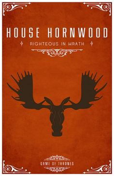 Game of Thrones. House Hornwood: Righteous in Wrath