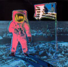 Prints:Contemporary, ANDY WARHOL (American, 1928-1987). Moonwalk, 1987. Color  screenprint. 38 x 38 inches (96.5 x 96.5 cm). Ed. PP 1/5. Stamp...  (Total: 1 Items)