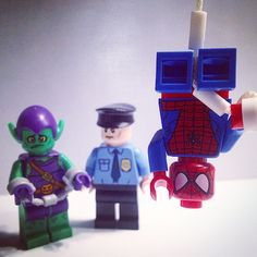 """Courtesy of your friendly-neighborhood Spider-Man!"" - #Lego #LegoMarvel #LegoMarvelSuperHeroes #LegoSuperHeroes #SuperHeroes #Comics #ComicBooks #marvel #marvelcomics #marvelcinematicuniverse #mcu #spiderman #peterparker #greengoblin #thegreengoblin #normanosborn #osborn #legophotography #legospiderman #minifigures #minifigure #minifigs #legophotography #amazingspiderman #minifigs #minifig"