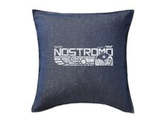 Items similar to Alien: Uscss Nostromo Cushion on Etsy Gaming Lounge, Predator 1, Alien Vs, Cushions, Trending Outfits, Unique Jewelry, Handmade Gifts, Etsy, Vintage
