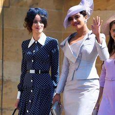 And yet somehow Priyanka Chopra looks like she's done this whole #royalwedding before. (���