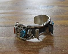 Turquoise Cuff, Turquoise Bracelet, Thing 1, Sterling Silver Cuff, Vintage Watches, Indian Jewelry, Watch Bands, Distance, Bracelet Watch