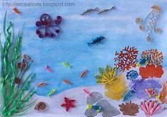 Ocean Quilling Pictures