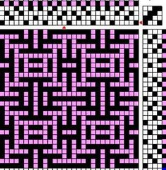 Designing Shadow Weave – the Atwater System Inkle Weaving, Card Weaving, Tablet Weaving, Weaving Textiles, Weaving Patterns, Mosaic Patterns, Willow Weaving, Art Du Fil, Bead Crochet Rope