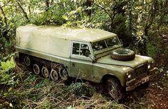 Land Rover Centaur Half-Track