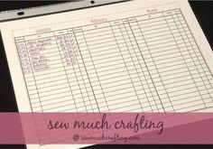 Sew Much Crafting: Bills & Finances {How We Do Them}