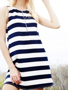 Drift Away Striped Dress