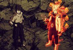 SPOILER: Naruto and Sasuke Tag Team. When Naruto gains the Senjutsu of the Sage of the Six Paths, and when Sasuke awakens the Rinnegan..