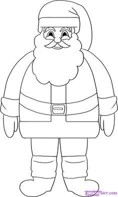draw a santa claus google search - Santa Claus Activities