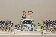 Torta y cake pops tematica Star Wars