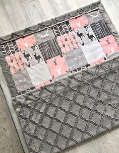 Astounding Sew A Weighted Blanket Ideas. Enchanting Sew A Weighted Blanket Ideas. Easy Baby Blanket, Minky Baby Blanket, Baby Girl Blankets, Weighted Blanket, Diy Blankets, Baby Love, Our Baby, Baby Cooking, Woodland Baby