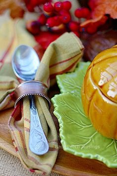 Back Porch Musings~Fall is in the Details