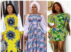 Here Are The 10 Best Ankara Fashion Dresses For Today Ankara Short Gown Styles, Short Gowns, Ankara Fashion, African Fashion Dresses, Ankara Skirt And Blouse, Latest Aso Ebi Styles, Maxi Gowns, Sleeve Designs, Blouse Styles