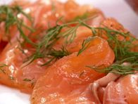 Tequila Cured Salmon (Bobby Flay)