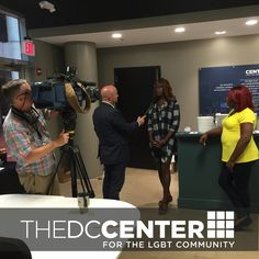 On Thursday the Justice Department Released a New Training Video for Law Enforcement on Interacting with the Transgender Community.  DC Center team members Louraca Potts and Jazmin Sutherlin discuss the news with Cox Television fb.com/centertrans #FindYourCenterDC
