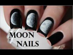 Moon Phase | Nail Art Tutorial - YouTube