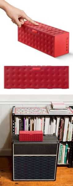 Red BIG Jambox Bluetooth Speaker #product_design #industrial_design