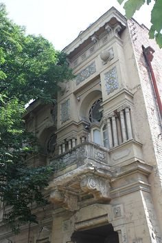 Art nouveau Tblisi Georgia