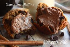 The Farmer's Wife: Cappuccino Muffins