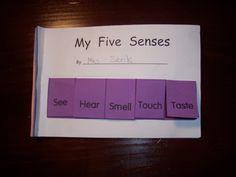 My Five Senses « Kindergarten Nana