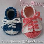 Booties Crochet Patterns, Baby hat crochet patterns by TheLovelyCrow Crochet Shoes Pattern, Crochet Baby Booties, Crochet Slippers, Crochet Patterns, Love Crochet, Crochet For Kids, Easy Crochet, Crochet Crafts, Crochet Projects