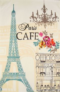 The Paris Cafe: Epitome of France for me <3