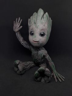 BABY GROOT Print and post process by Adam Frajka  #toysandgames  #prusai3