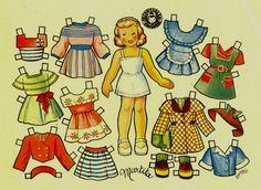 muñecas recortables, paper dolls, Бумажные куклы , bambole da carta, poupées en papier, 纸娃娃 , – merimartinez1 – Webová…