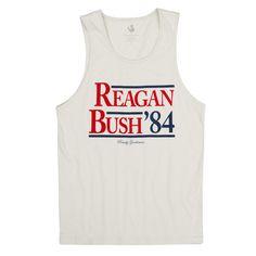 Reagan Bush '84 Tank Top
