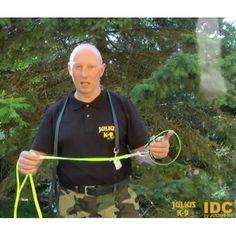 """Julius K-9 IDC® Lumino Snap Leash 3/4""""W x 49'L (50Meters)"""
