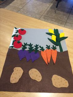 My kiddos love it Garden Crafts For Kids, Preschool Garden, Farm Crafts, Preschool Crafts, Projects For Kids, Creative Activities For Kids, Spring Activities, Preschool Activities, Toddler Art