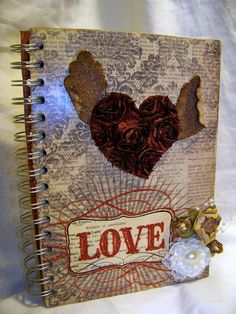 Altered journal using pro31 Designs embellishments and trims!
