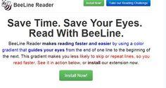 Beeline Reader: Kostenlose Chrome-Erweiterung hilft beim Schnelllesen. Eine Chrome-Erweiterung will das Lesen von Online-Texten  PC-Monitor erheblich beschleunigen: Das kostenlose Chrome-Addon BeeLine Reader färbt Texte dazu mit Farbverläufen ein. Das hilft dabei, Texte schneller zu erfassen und  nicht mehr beim Lesen in der Zeile zu verrutschen