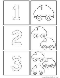 {Caterpillar Counting Freebie} Common Core Math for Kindergarten Senses Activities, Preschool Learning Activities, Preschool Printables, Preschool Activities, Kids Learning, Numbers Preschool, Learning Numbers, Kindergarten Math Worksheets, File Folder Games