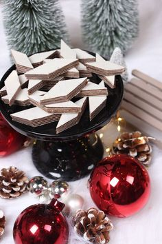 """Chocolate for Christmas or others say """"Heinerle"""" - Trend Mayonaise Cake Recipe 2020 Best Christmas Cookies, Holiday Cookies, Christmas Biscuits, German Christmas, Christmas Time, How To Make Saurkraut, Mayonaise Cake, Xmas Food, How To Make Cookies"""