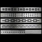 Schluter KERDI-LINE Linear Drain - Offset - All Grates
