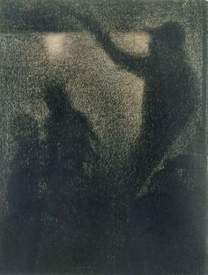 the drawings by seurat : Photo