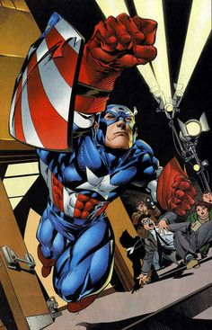 Captain America by Andy Kubert