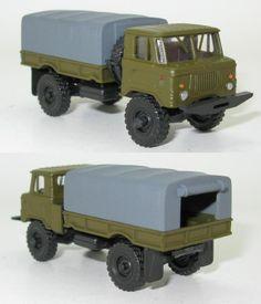 GAZ-66 Pritsche Plane NVA UdSSR - 1:87 HO