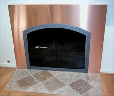 Need this for in front of our fireplace to protect the hardwood! Interior Projects, Fake Fireplace, Fireplace Redo, Flooring, Tile Floor, Interior, Home Decor, Fireplace Surrounds, Fireplace