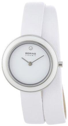 Bering Time Damen-Armbanduhr Ceramic Analog Quarz 33128-8…