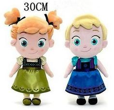 New Cute 12inch Elsa Anna Xmas Gift Plush Soft Kids Baby Toy In Movie Frozen Plush Toys Stuffed From Jessiebee, $7.63 | Dhgate.Com