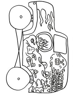 Download Grave Digger Monster Truck Coloring Pages ...