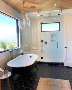 Name That Tile: Homeowners Guide to Identifying Shower Tile Bathroom Tile Designs, Modern Bathroom Design, Bathroom Colors, Best Bathroom Vanities, White Bathroom, Bathroom Interior, Master Bathroom, Vanity Bathroom, Downstairs Bathroom