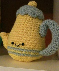 amigurumi teapot by Ohioja